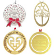 brass holiday tree ornaments