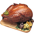 holiday turkey ham salmon beef
